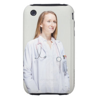 Female Doctor iPhone 3 Tough Cases