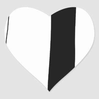 Female doctor silhouette heart sticker