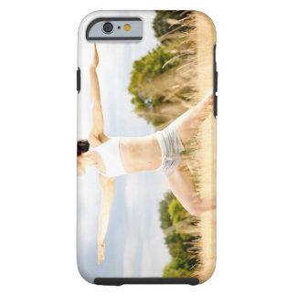 Female Does Yoga Stretch Tough iPhone 6 Case