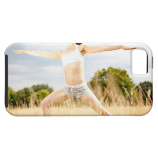 Female Does Yoga Stretch iPhone 5 Cases