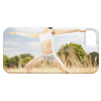Female Does Yoga Stretch iPhone 5 Cover