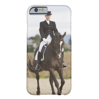 female dressage rider exercising barely there iPhone 6 case