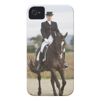 female dressage rider exercising iPhone 4 cover