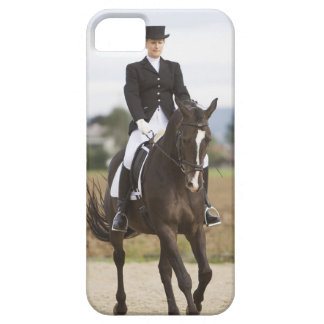 female dressage rider exercising iPhone 5 cover