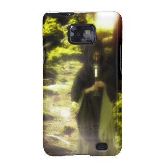 Female druid in forest galaxy s2 case