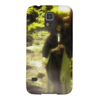 Female druid in forest galaxy s5 cover