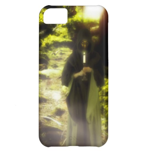 Female druid in forest iPhone 5C covers