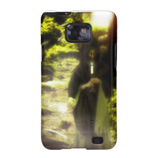Female druid in forest galaxy s2 case