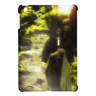 Female druid in forest iPad mini cover