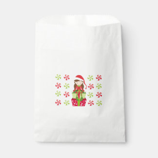 Female Elf with Candies Favour Bags