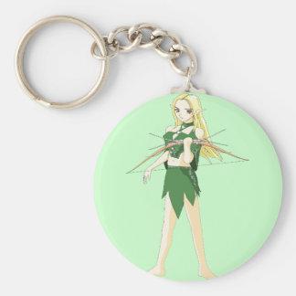 Female Elven Archer Key Chains