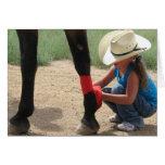 Female Equine Vet - Ranch or Farm DVM Card