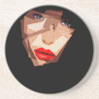 Female Expressions 592 Beverage Coaster