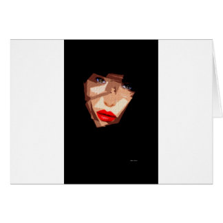 Female Expressions 592 Greeting Card