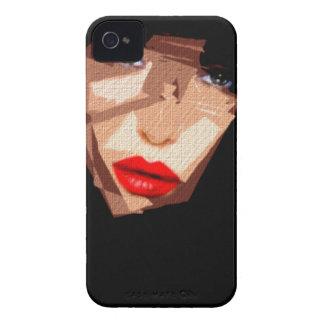 Female Expressions 592 iPhone 4 Case-Mate Case