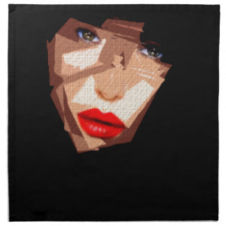 Female Expressions 592 Printed Napkin
