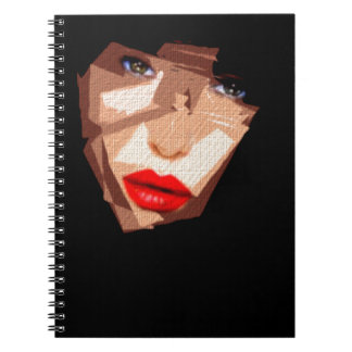 Female Expressions 592 Spiral Note Book