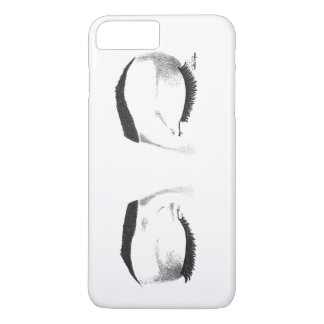 Female Eyes Sketch (Customizable) iPhone 7 Plus Case