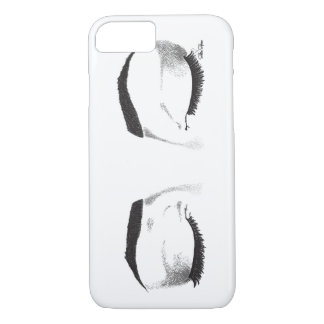 Female Eyes Sketch iPhone 7 Case
