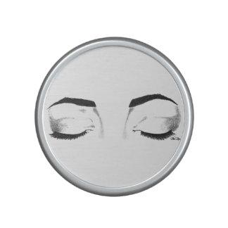 Female Eyes Sketch Speaker