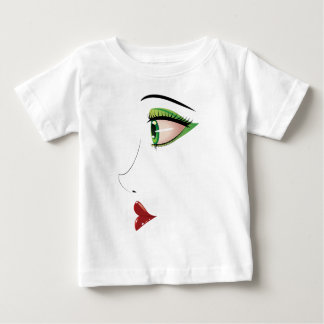 Female face in profile t-shirts