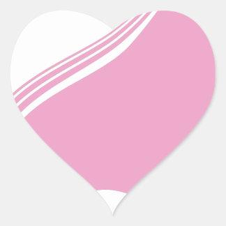 Female Face Profile View Heart Sticker