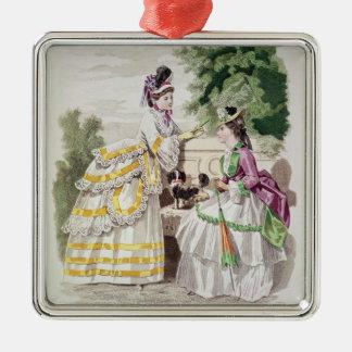 Female fashions christmas ornament