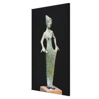 Female figure, possibly Aphrodite Canvas Print