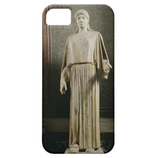 Female figure wearing a peplos, Greek (marble) iPhone 5 Cover