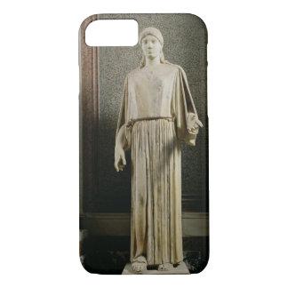 Female figure wearing a peplos, Greek (marble) iPhone 8/7 Case