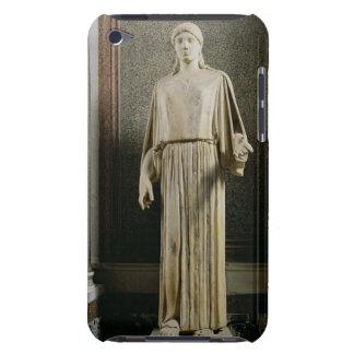 Female figure wearing a peplos, Greek (marble) iPod Touch Case