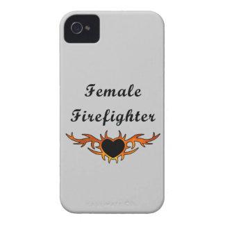 Female Firefighter Tattoo iPhone 4 Case
