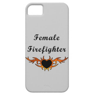 Female Firefighter Tattoo iPhone 5 Covers
