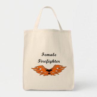 Female Firefighter Tattoos Bags