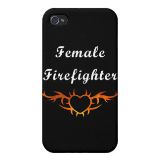 Female Firefighter Too iPhone 4 Cover