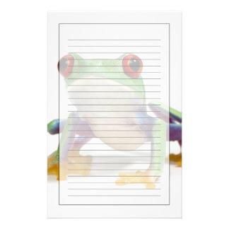 Female frog 2 stationery