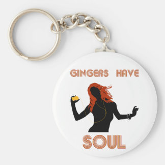 Female Gingers have Soul Key Ring