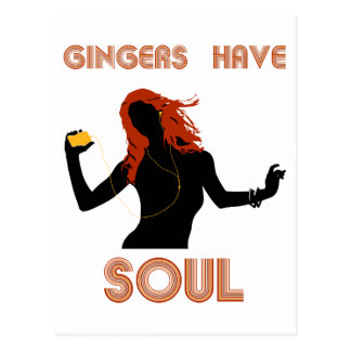 Female Gingers have Soul Postcard