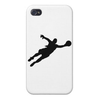 (Female) Goalie Save iPhone 4/4S Covers