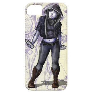 Female Graffiti Artist iPhone 5/5S Cases