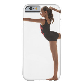 Female gymnast (12-13) balancing on one leg barely there iPhone 6 case
