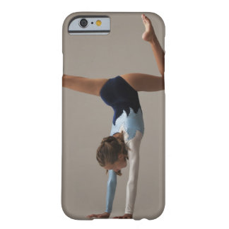 Female gymnast (12-13) performing handstand barely there iPhone 6 case