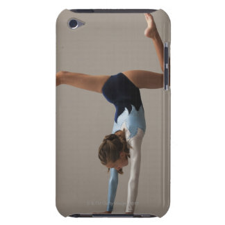 Female gymnast (12-13) performing handstand barely there iPod case
