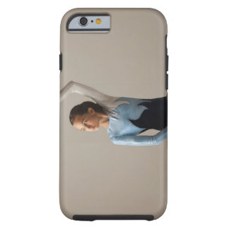 Female gymnast (12-13) performing splits tough iPhone 6 case