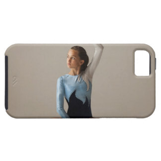 Female gymnast (12-13) performing splits iPhone 5 cover