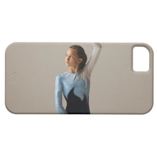 Female gymnast (12-13) performing splits iPhone 5 cases