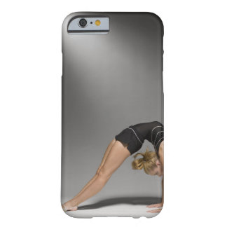Female gymnast stretching, studio shot 2 barely there iPhone 6 case