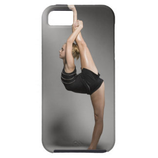 Female gymnast stretching, studio shot case for the iPhone 5
