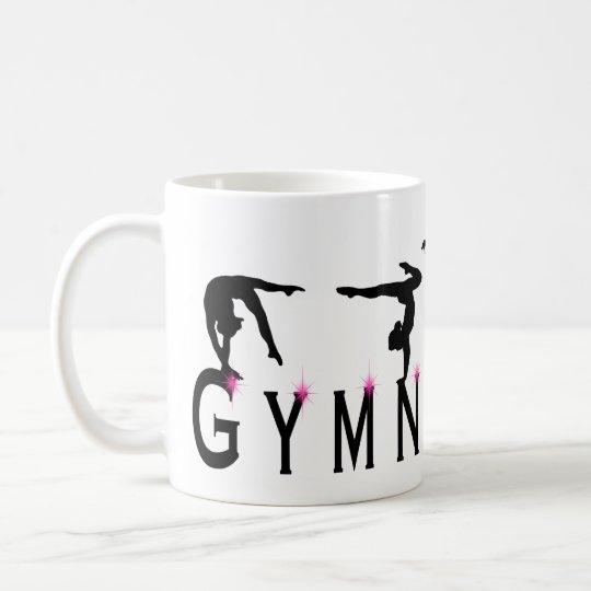 Female Gymnastics Sports Coffee Mug