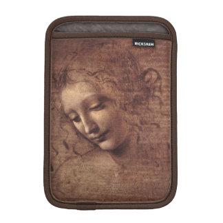 Female Head La Scapigliata by Leonardo da Vinci iPad Mini Sleeves